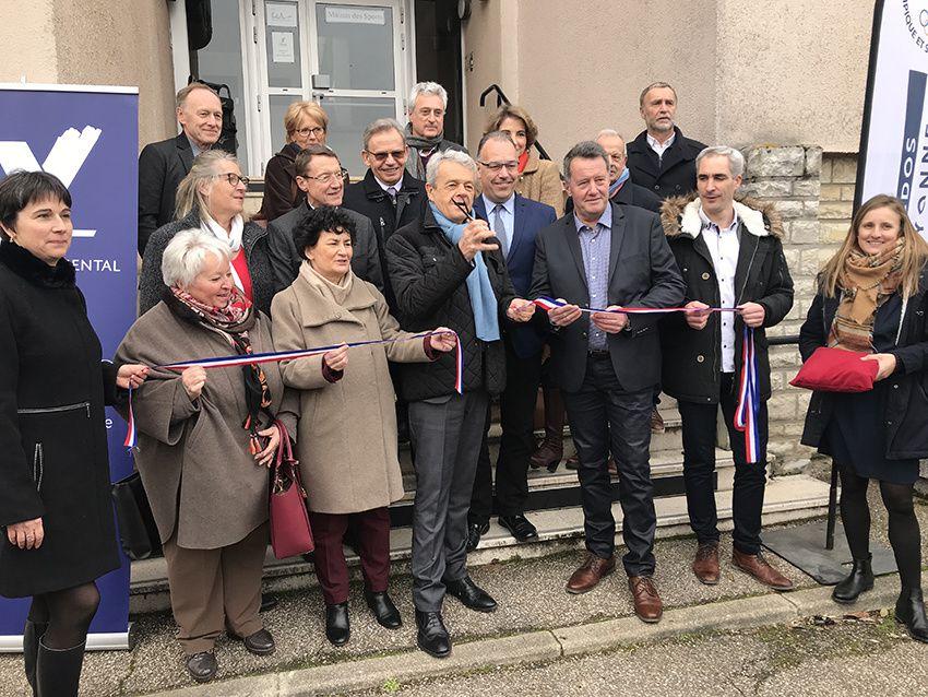 La maison Départementale des Sports inaugurée.