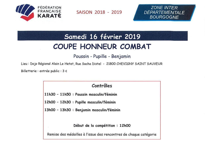 Coupe de Bourgogne HONNEUR