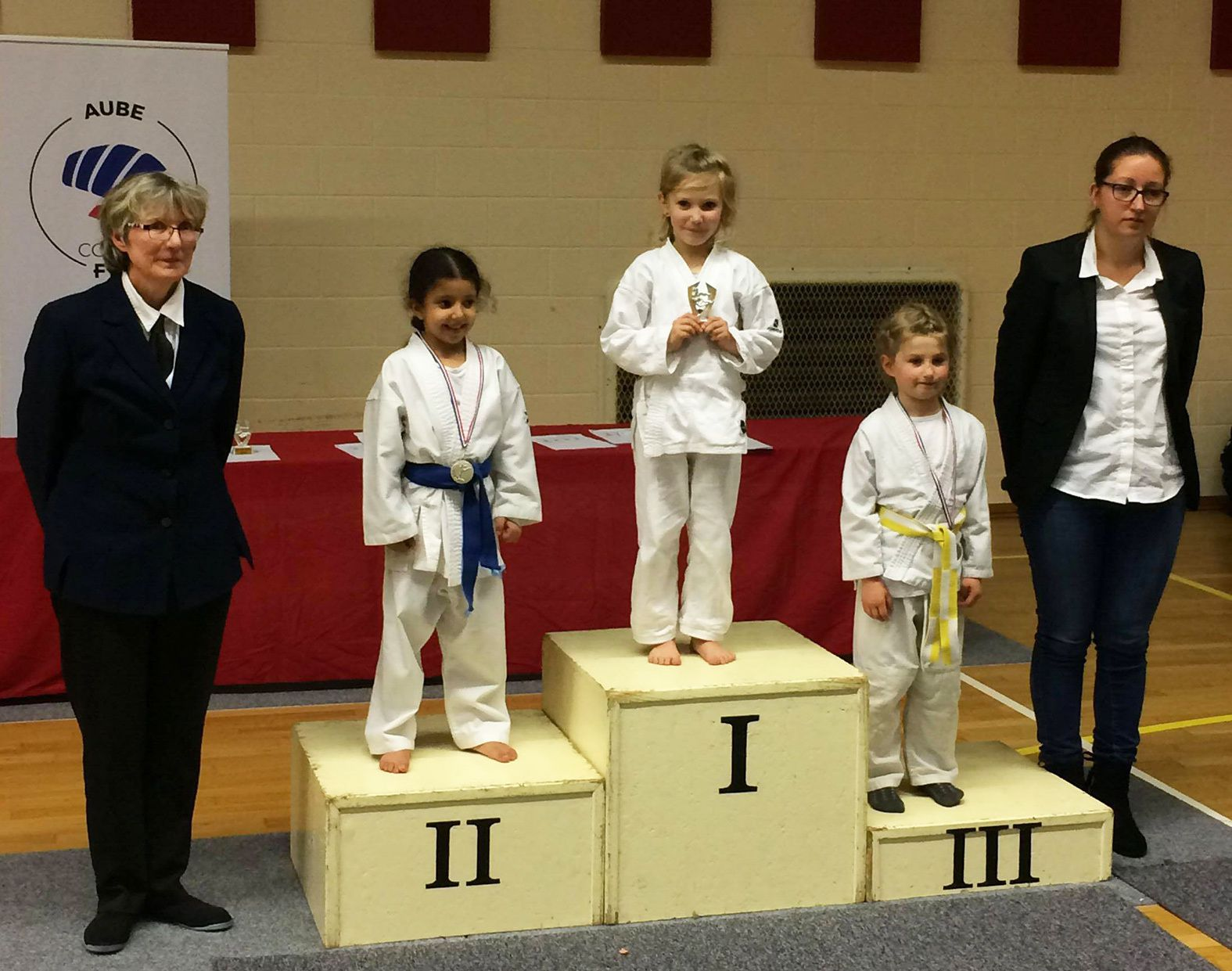 11 podiums en coupe de l'AUBE