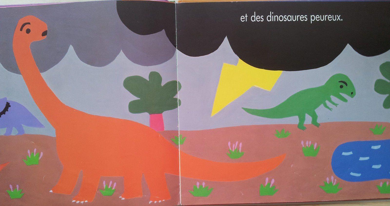 Dinosaures, dinosaures. Byron Barton. (dès 2 ans)