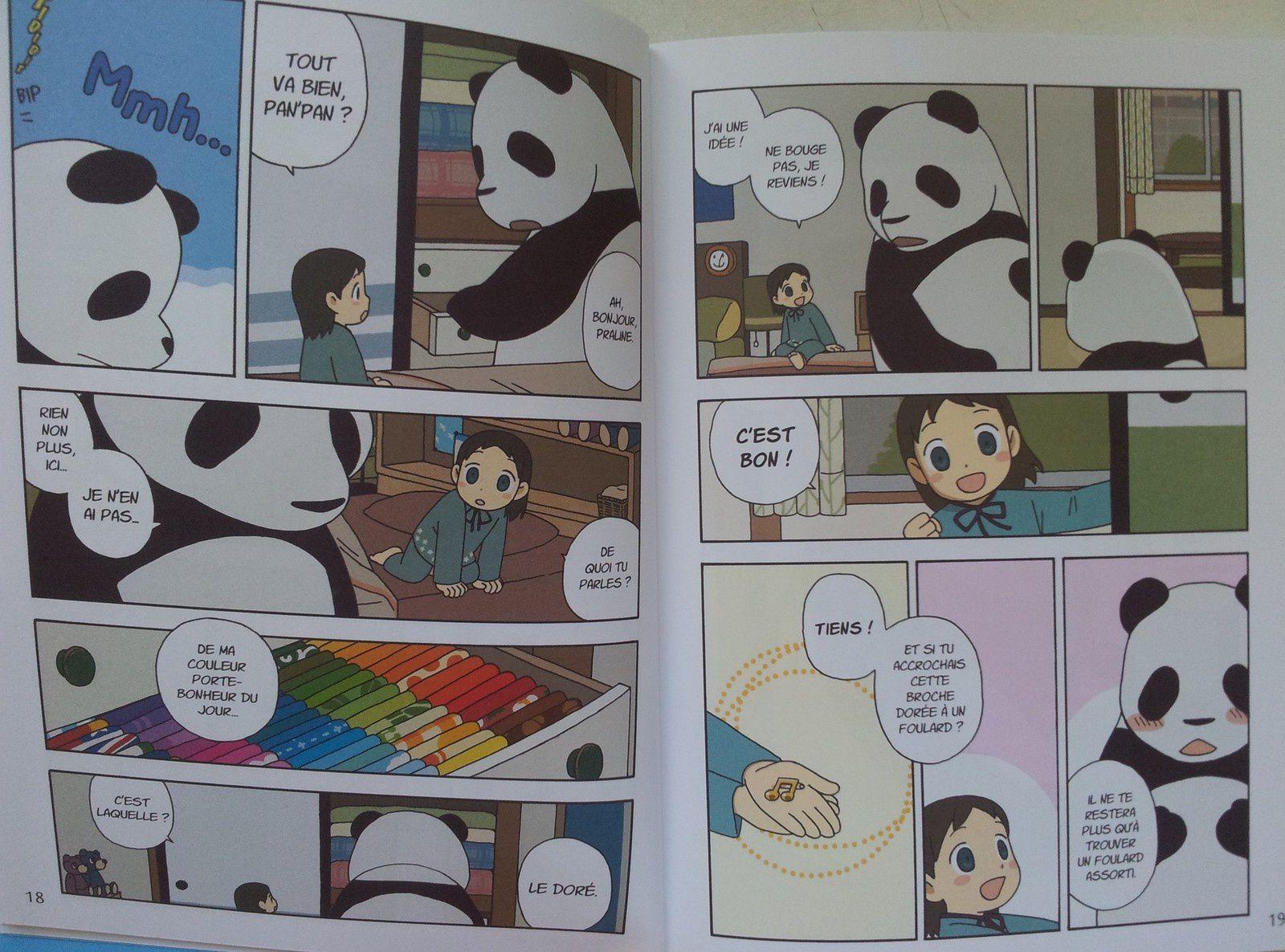Pan'Pan Panda. 1 Une vie en douceur. Sato HOROKURA. (Dès 8 ans)