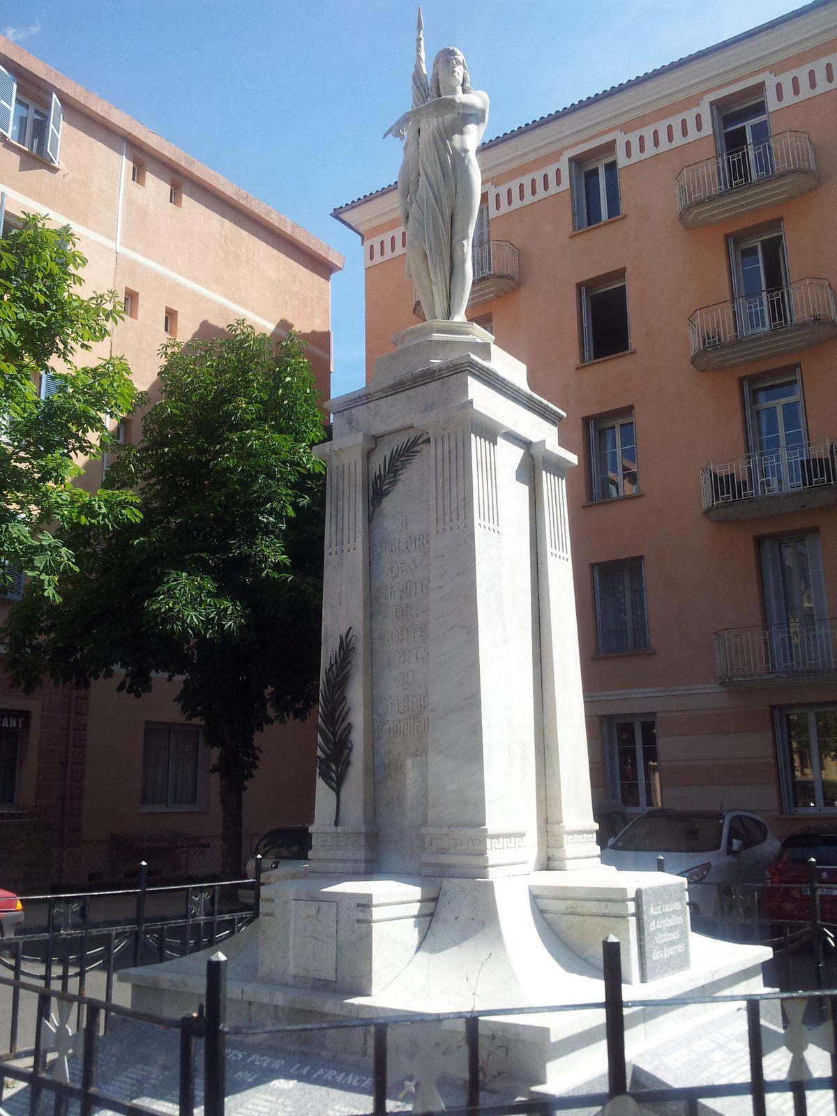 Monument aux Morts de Corte.
