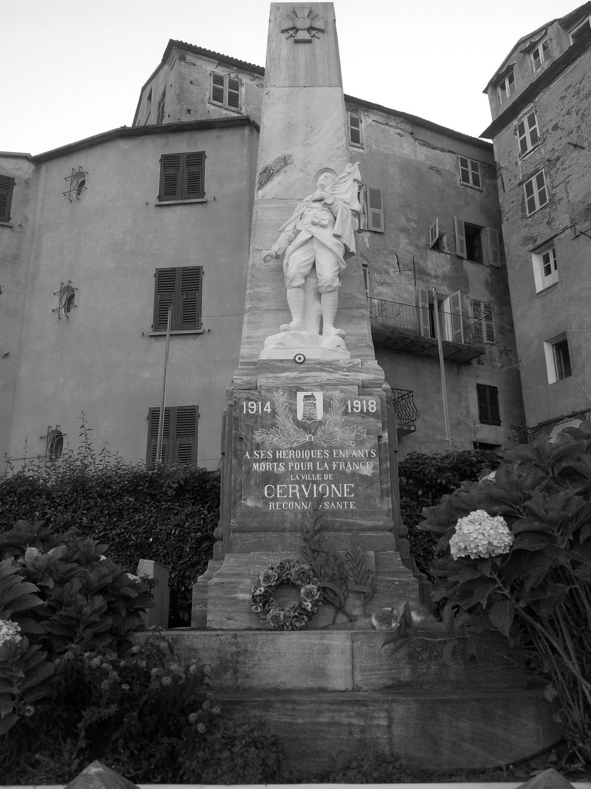 Monument aux Morts de Cervione.