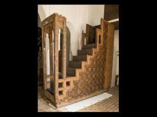 Minbar de la madrasa Bou Inania - http://www.lemonde.fr/culture/portfolio/2014/10/17/le-maroc-medieval-au-louvre_4498279_3246.html