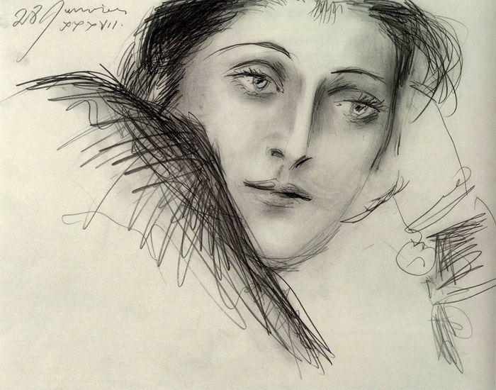 Portrait de Dora Maar - 1937.