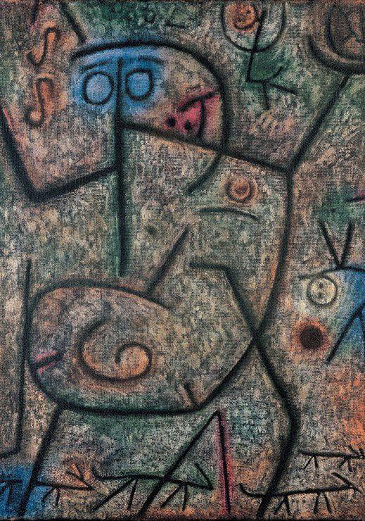 Oh, les rumeurs. 1939. http://www.go-puzzle.com/grafika-paul-klee-oh-les-rumeurs-1939-puzzle-1000-pieces.p45630.html