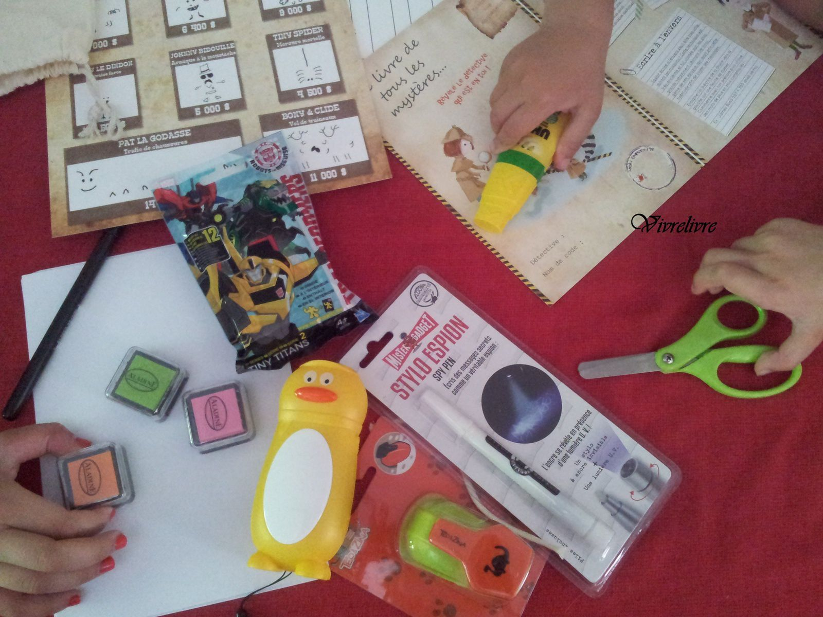 Jouer et découvrir# 19 - Box créative Gulli by Tiniloo.