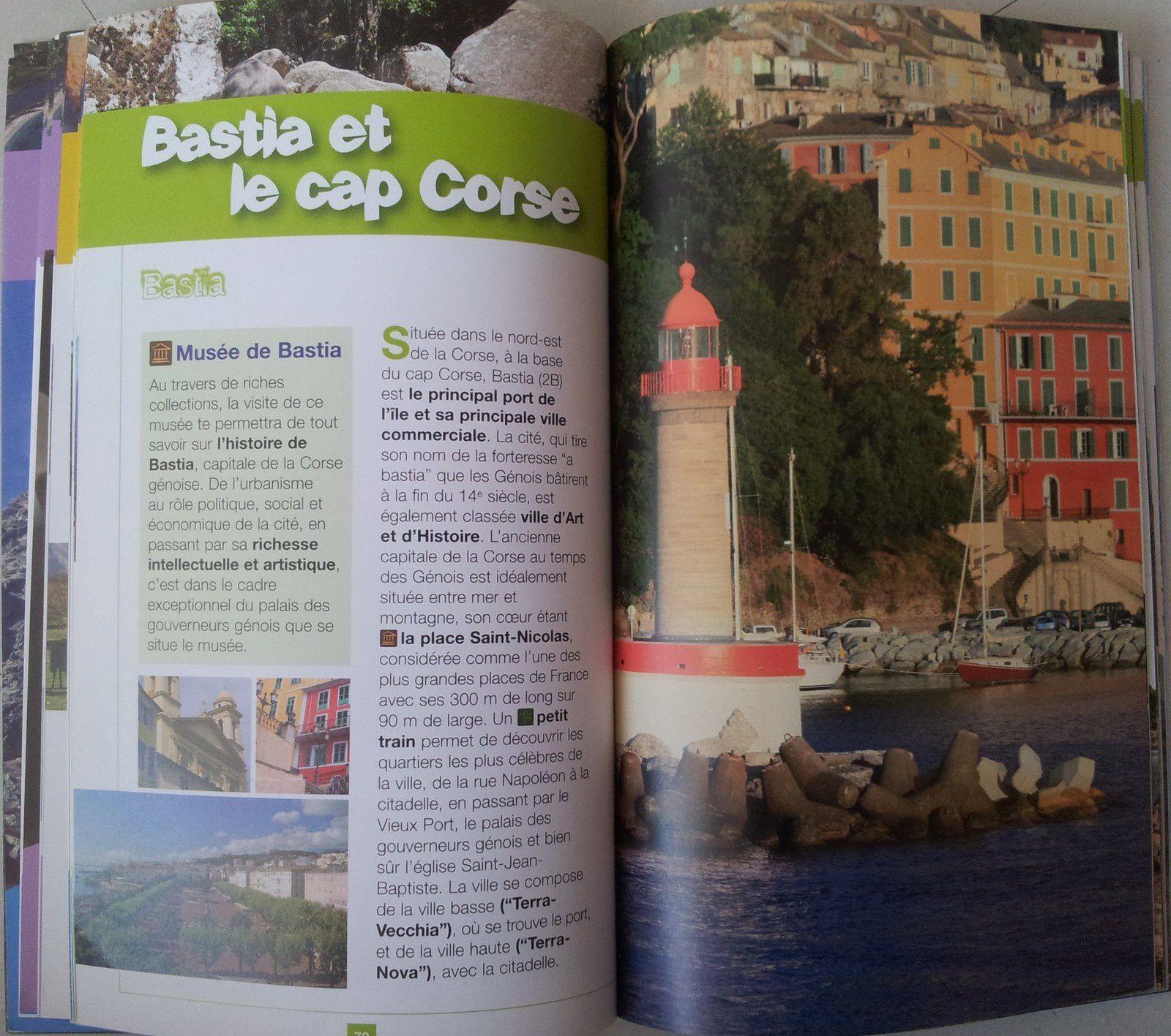Jouer et découvrir#21 - La Corse. Livres, guides et carnets (Dès 4 ans)