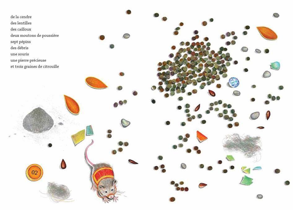 Dans les poches d'Alice, Pinocchio, Cendrillon et les autres… Isabelle SIMLER. (Dès 4 ans)