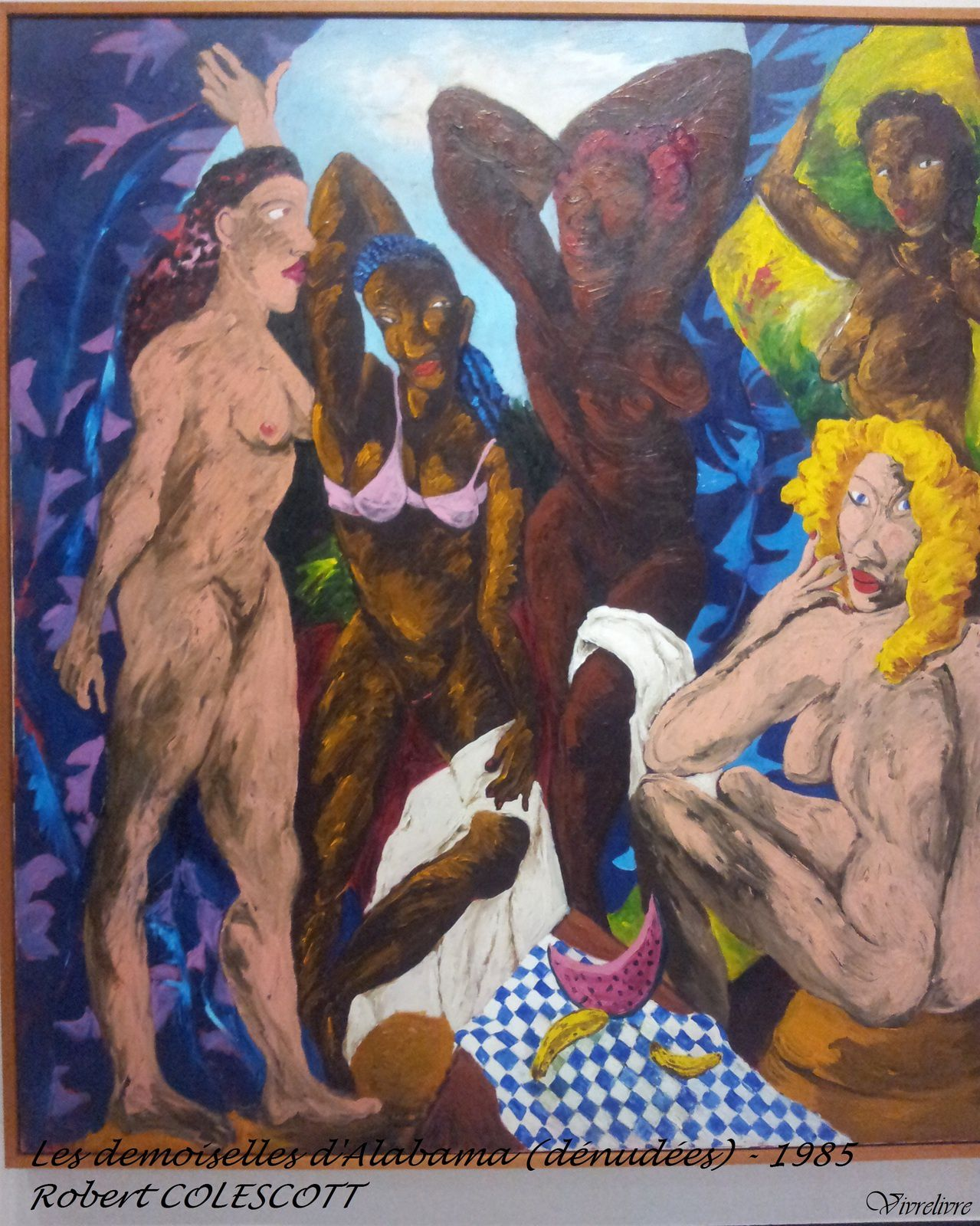 Les Demoiselles d'Avignon, revisitées.