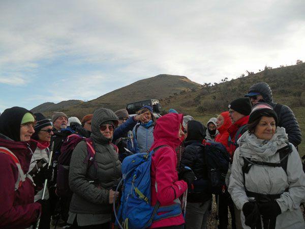Du Col des Veaux à Aritzakun Jeudi 16 janvier 2020 – 16 km, dénivelé de 500 mètres