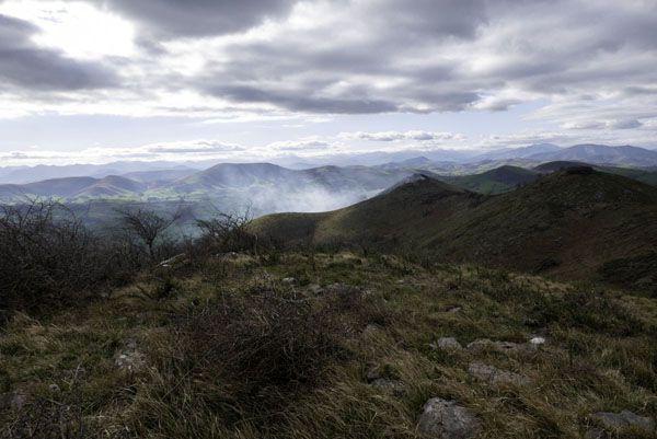 L'Eltzarruze au départ de Saint-Estaben.  Lundi 10 février 2020 – 13 km – dénivelé de 450 m