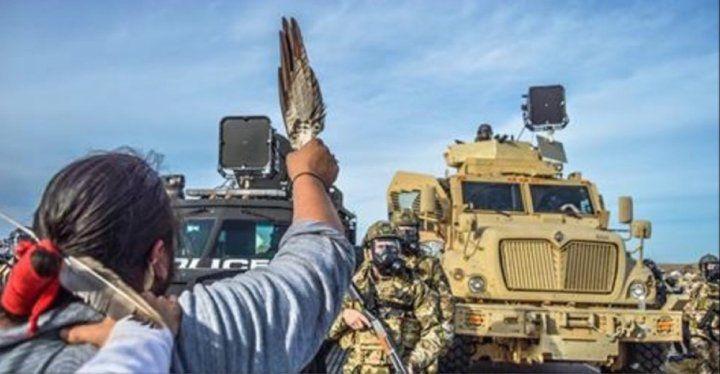 Résumé stupéfiant de l'impérialisme étatsunien et de la résistance autochtone sur MSNBC ! (Vidéo)