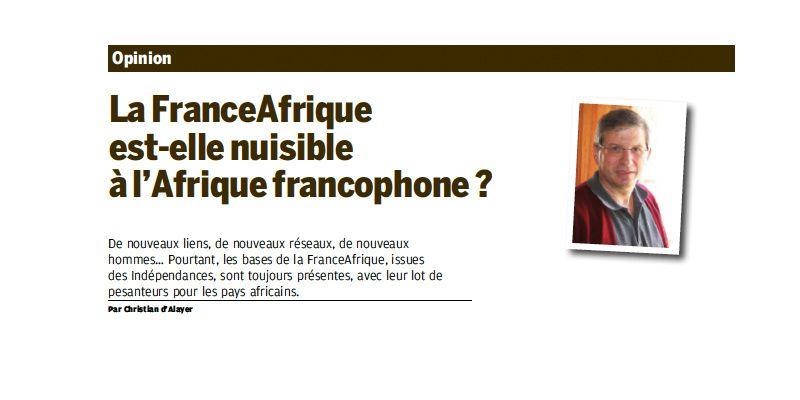 La Françafrique est-elle nuisible à l'Afrique francophone ? (Magazine de l'Afrique)