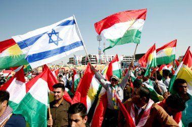 Rassemblement référendaire à Erbil