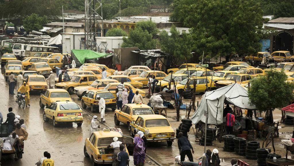 Vue de Ndjamena, août 2017, dans le flot de véhicules (illustration). © Xaume Olleros/Bloomberg via Getty