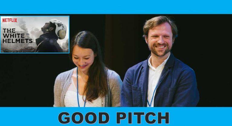 IMAGE: Joanna Natasegara et Orlando Einseidel de Violet Films et Grain Media - Netflix Casques blancs.