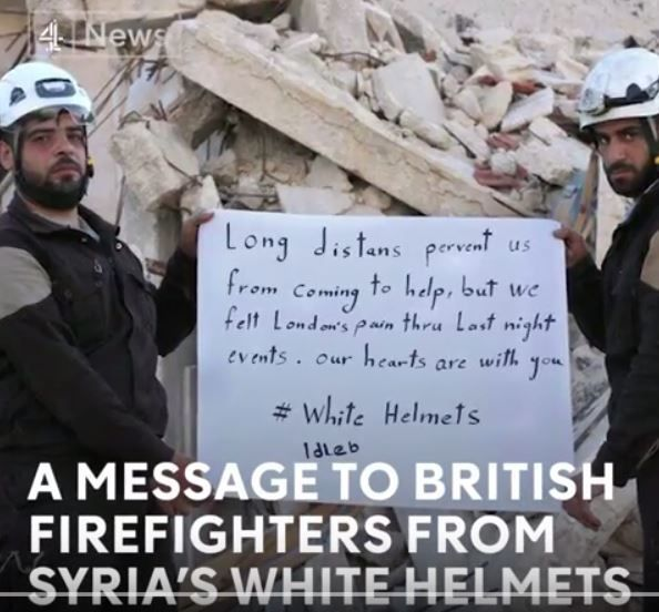 """CASQUES BLANCS: Channel 4, BBC, The Guardian - Architectes de la guerre """"humanitaire"""" (21st Century Wire)"""