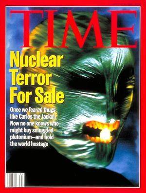 Couverture du Times en date du 29.08.1994