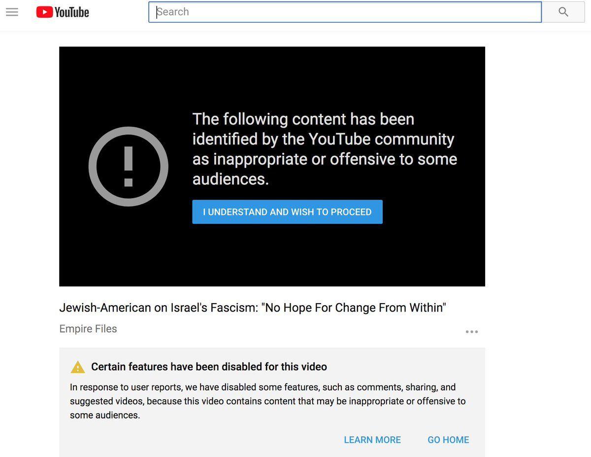 [Vidéo] L'interview critique d'Israël d'Abby Martin avec Max Blumenthal est bloquée par YouTube dans 28 pays (RT)