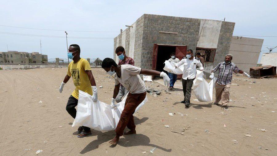 Yemen Morgue (c) Abduljabbar Zeyad  Reuters