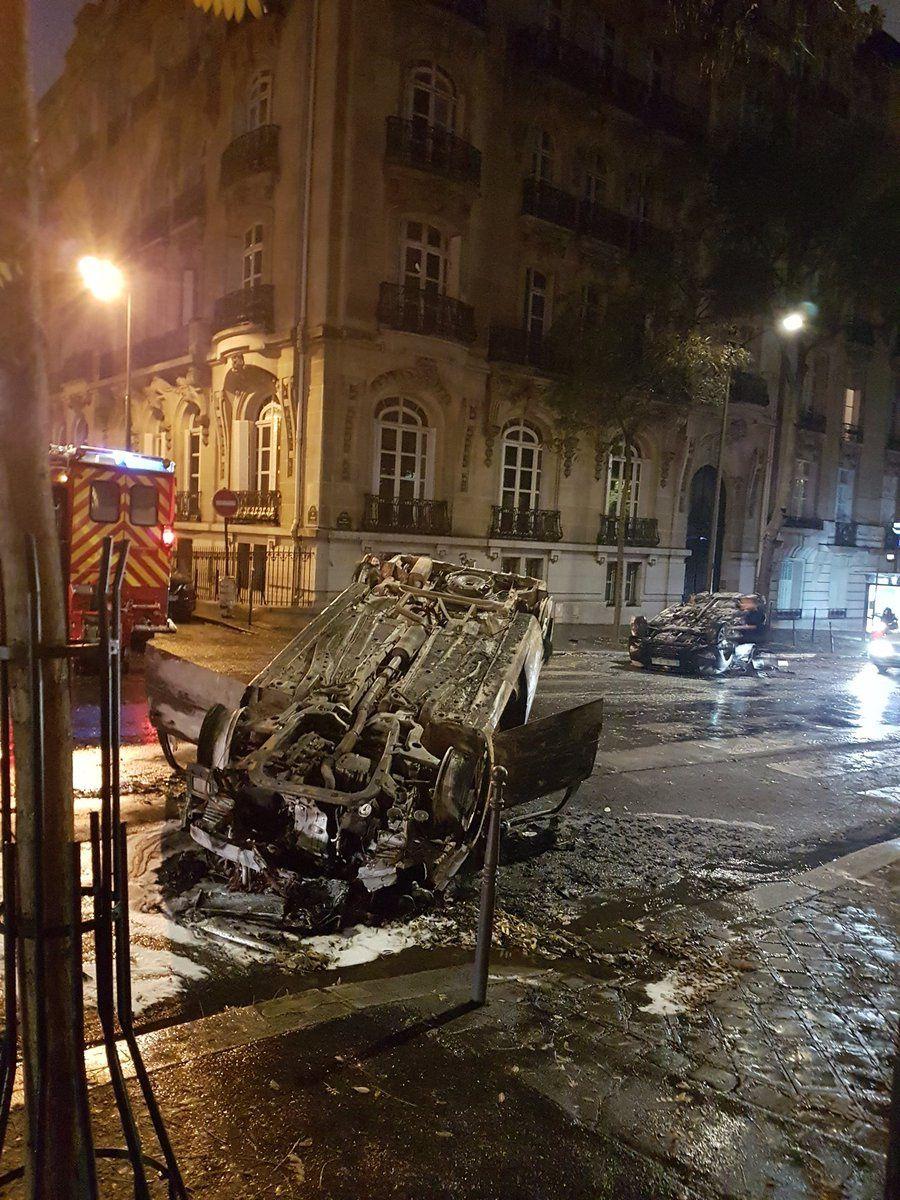 """Direct. """"Gilets jaunes"""". Acte 3. 136000 manifestants en France, 133 blessés, 436 interpellations, 378 gardes à vue [Photos, Vidéos]"""