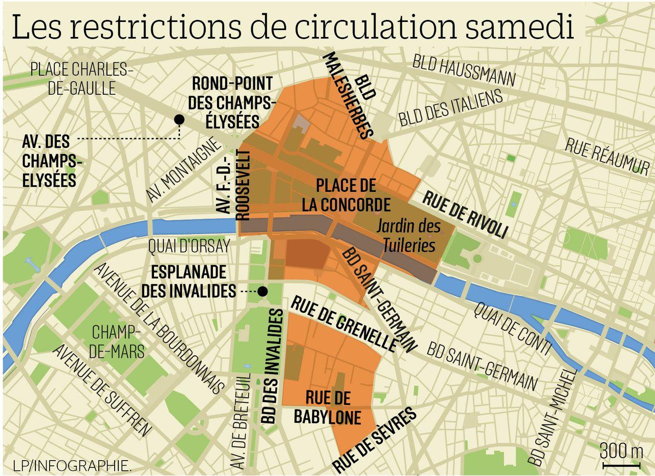 """Direct. """"Gilets jaunes"""". Acte 5 : le test. 66.000 manifestants en France dont 4000 à Paris, 168 arrestations et 115 gardes à vue (photos, vidéos)"""