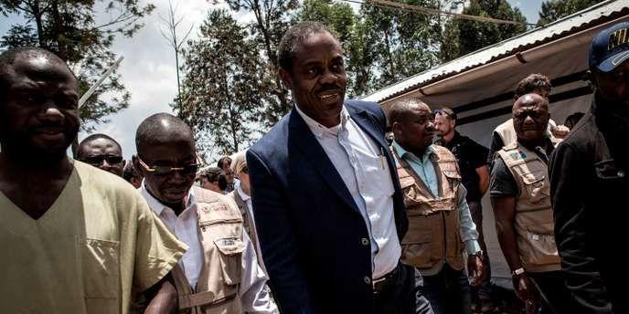 L'ex-ministre de la santé congolais, Oly Ilunga, qui a démissionné le 22 juillet 2019. JOHN WESSELS / AFP