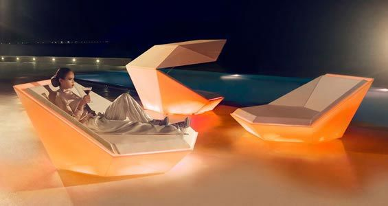 Faz daybed lumineux