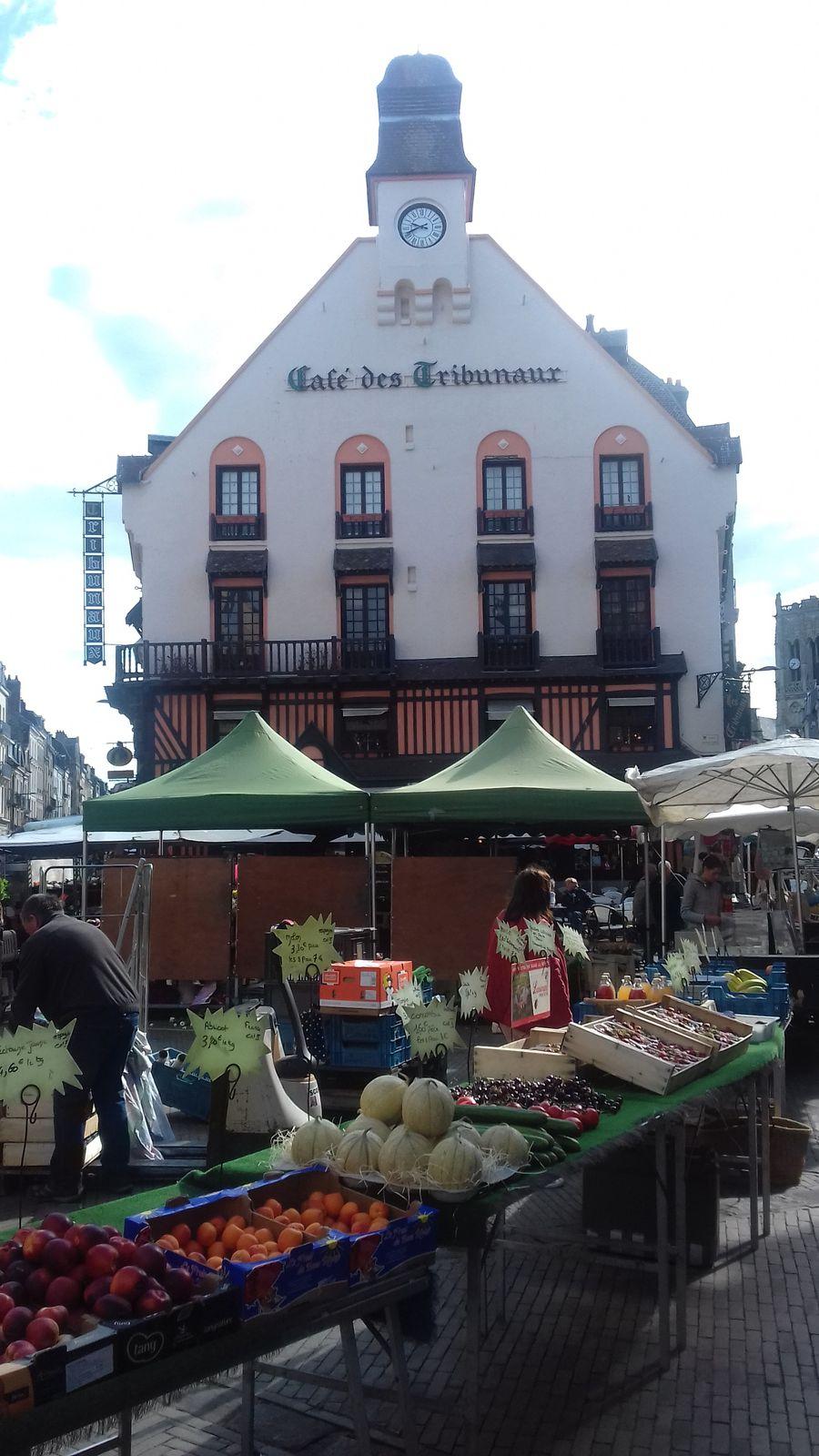 Dieppe retrouve son marché et le marcché retrouve Dieppe ...