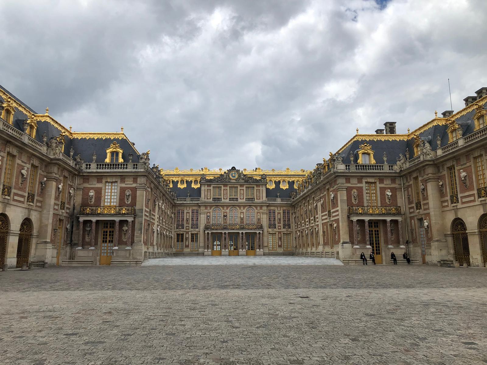 Se déconfiner à Versailles ..