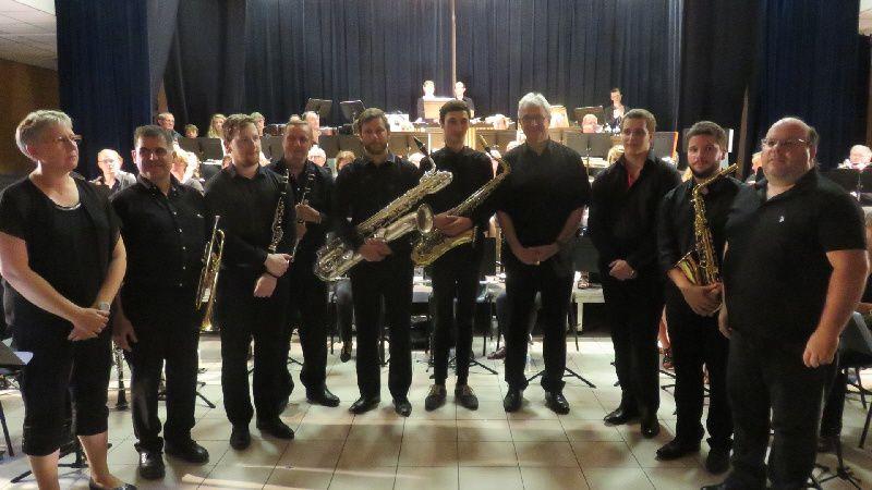 Le stage d'harmonie de l'été 2017 et son concert