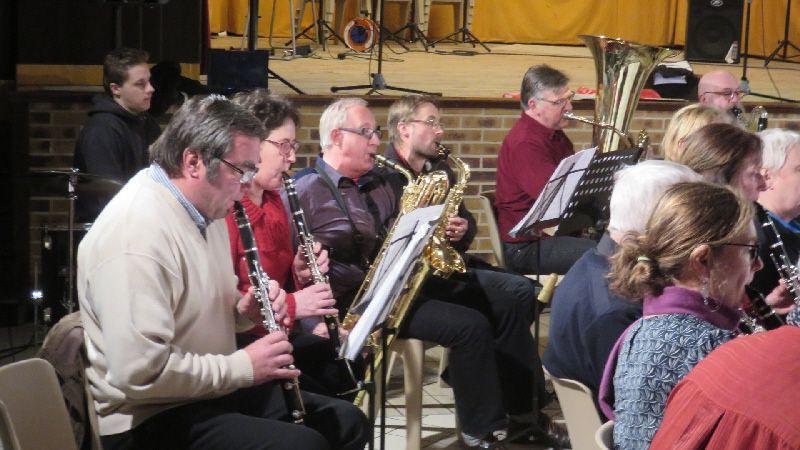 Participation au Concert de L'Ecole de Musique du Houlme