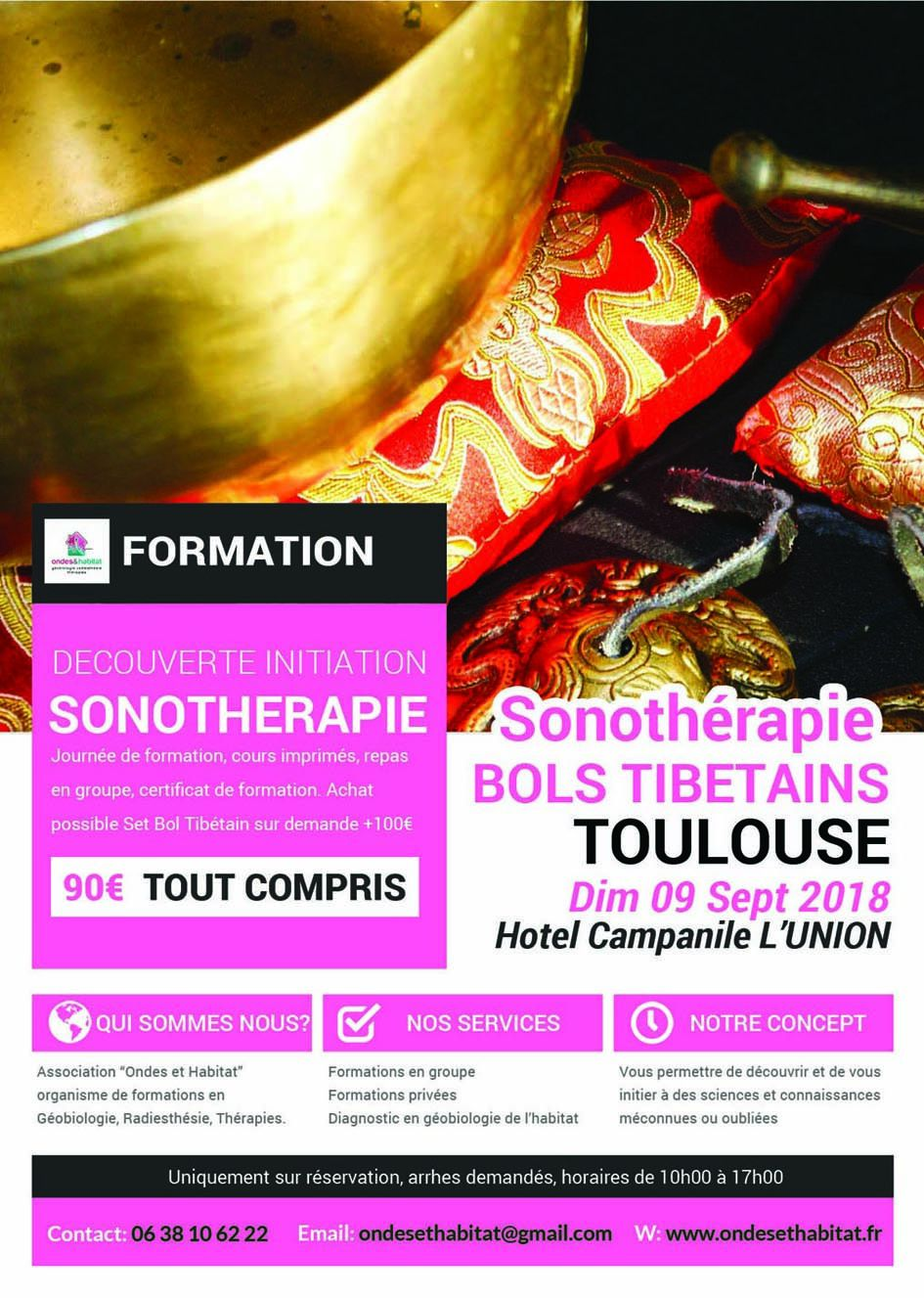 ► TOULOUSE FORMATIONS Calendrier 2020