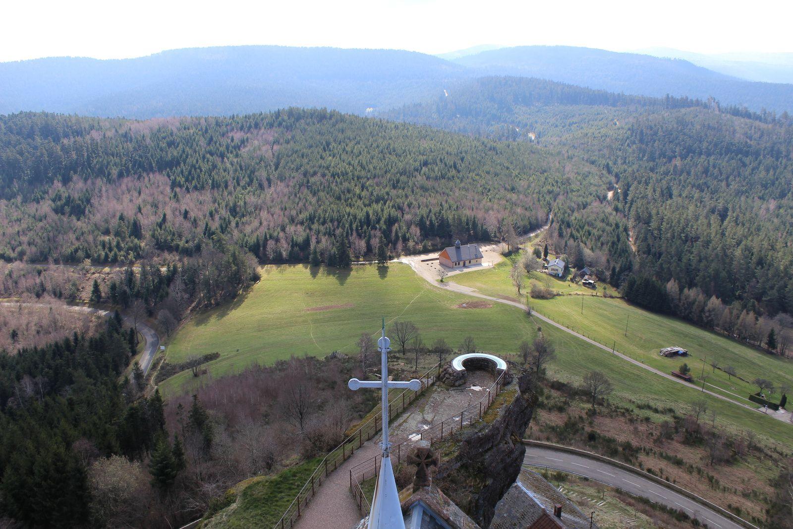 ALSACE VOSGES Mont Sainte Odile SORTIES HAUTS LIEUX D'ENERGIES 6 et 7 Juillet 2019