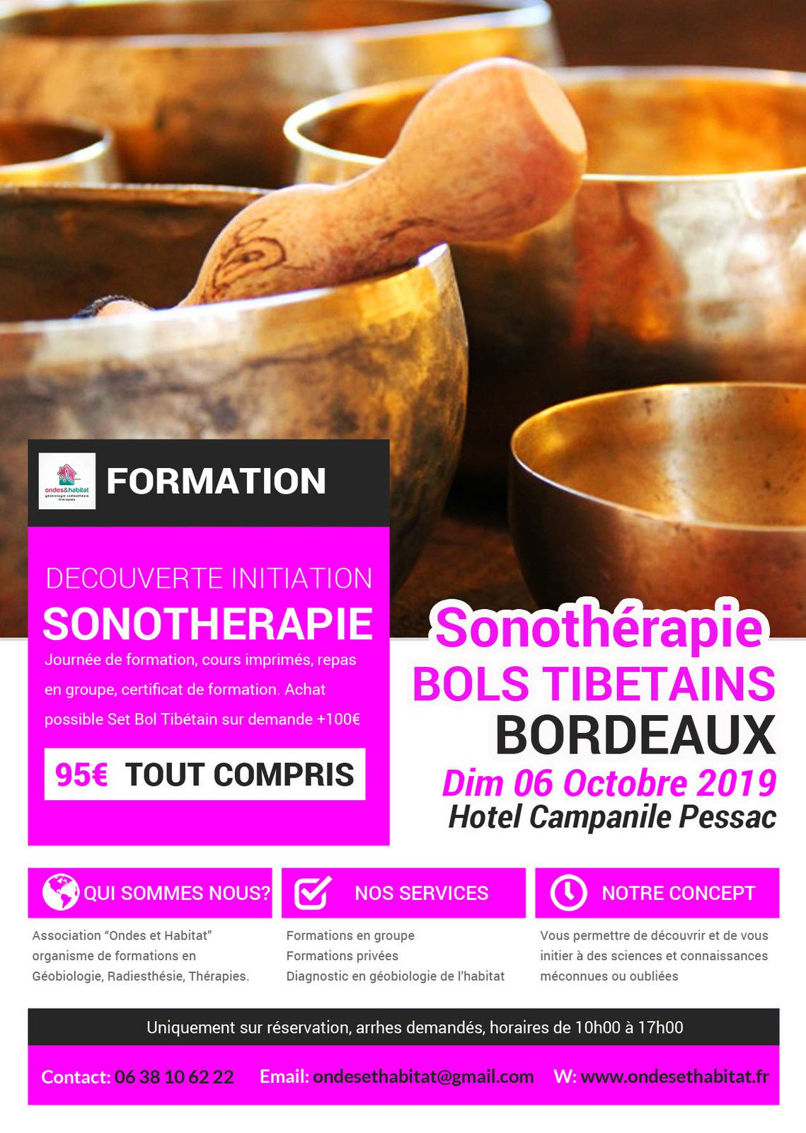 ► BORDEAUX FORMATIONS Calendrier