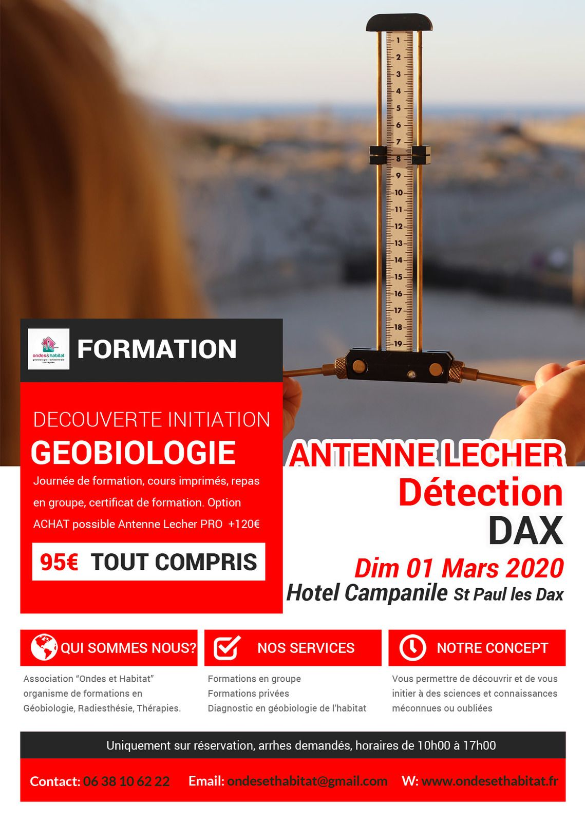 ► DAX FORMATIONS Calendrier 2020