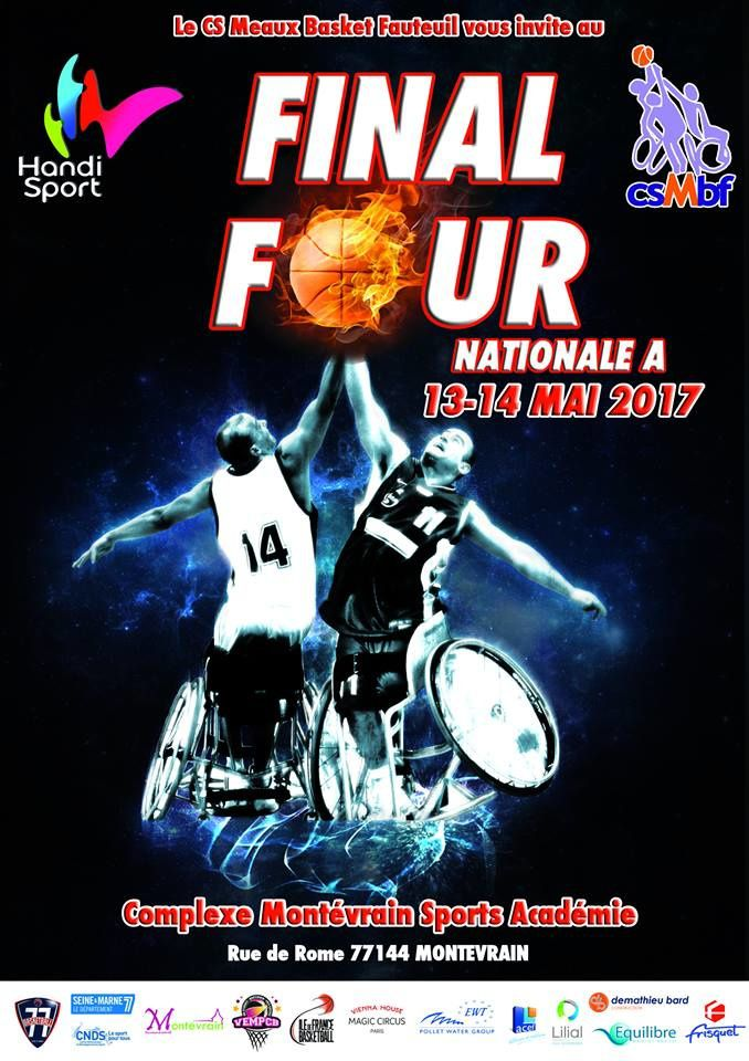Final four National A  /   HANDI BASKET à Montévrain 77