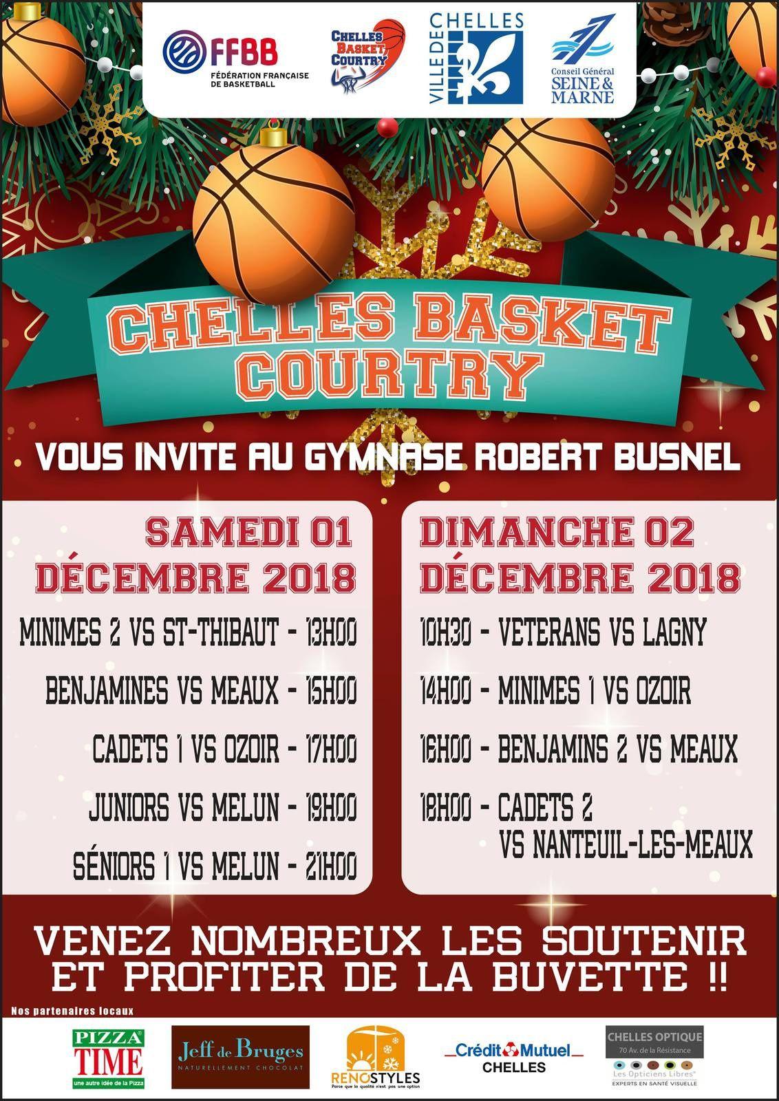 Matchs des 01 et 02 décembre 2018