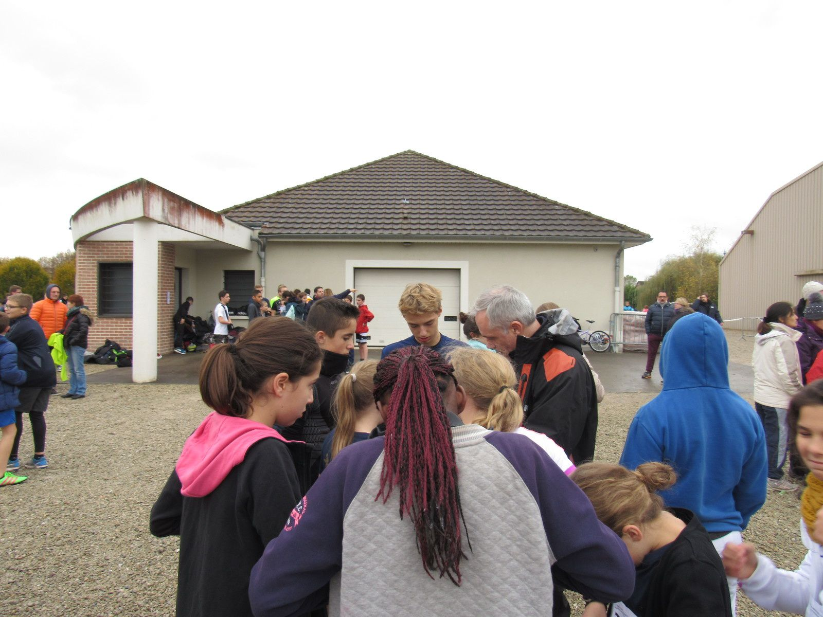 Cross de District Romilly novembre 2016
