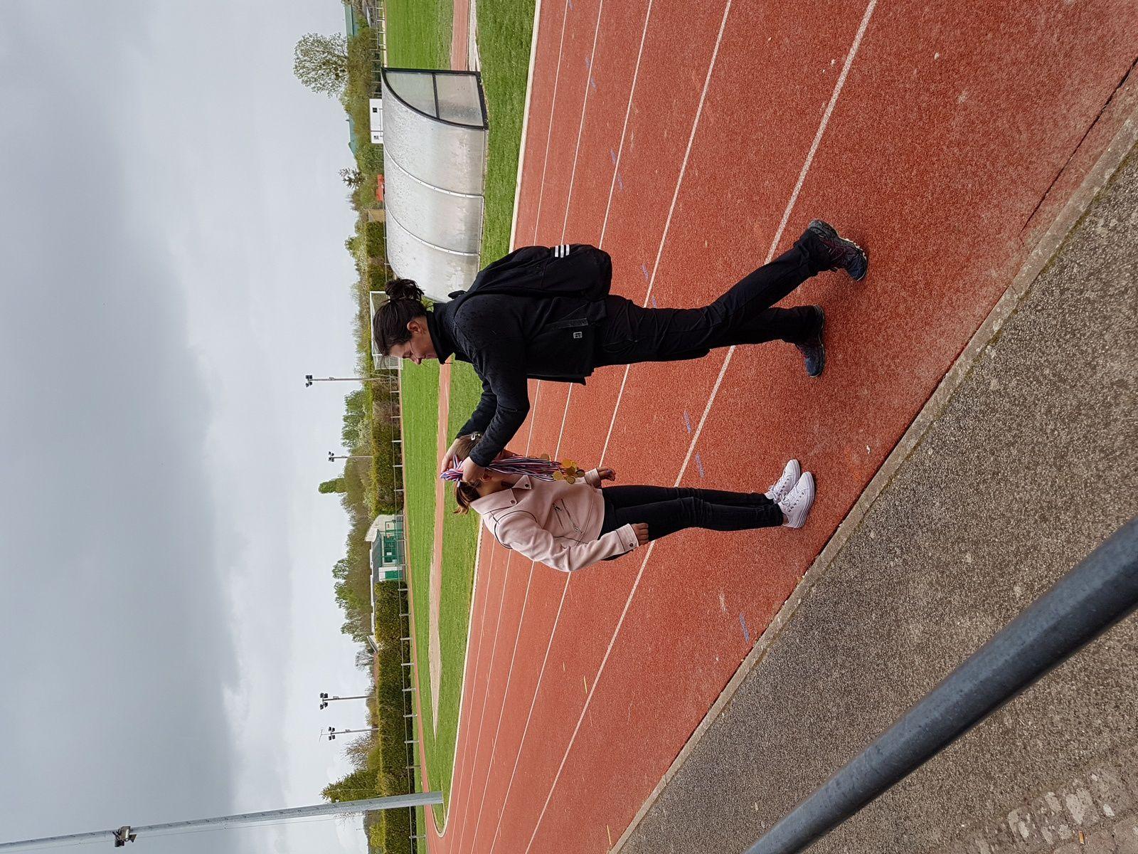 Photos Athlétisme Championnat de District Romilly avril 2019