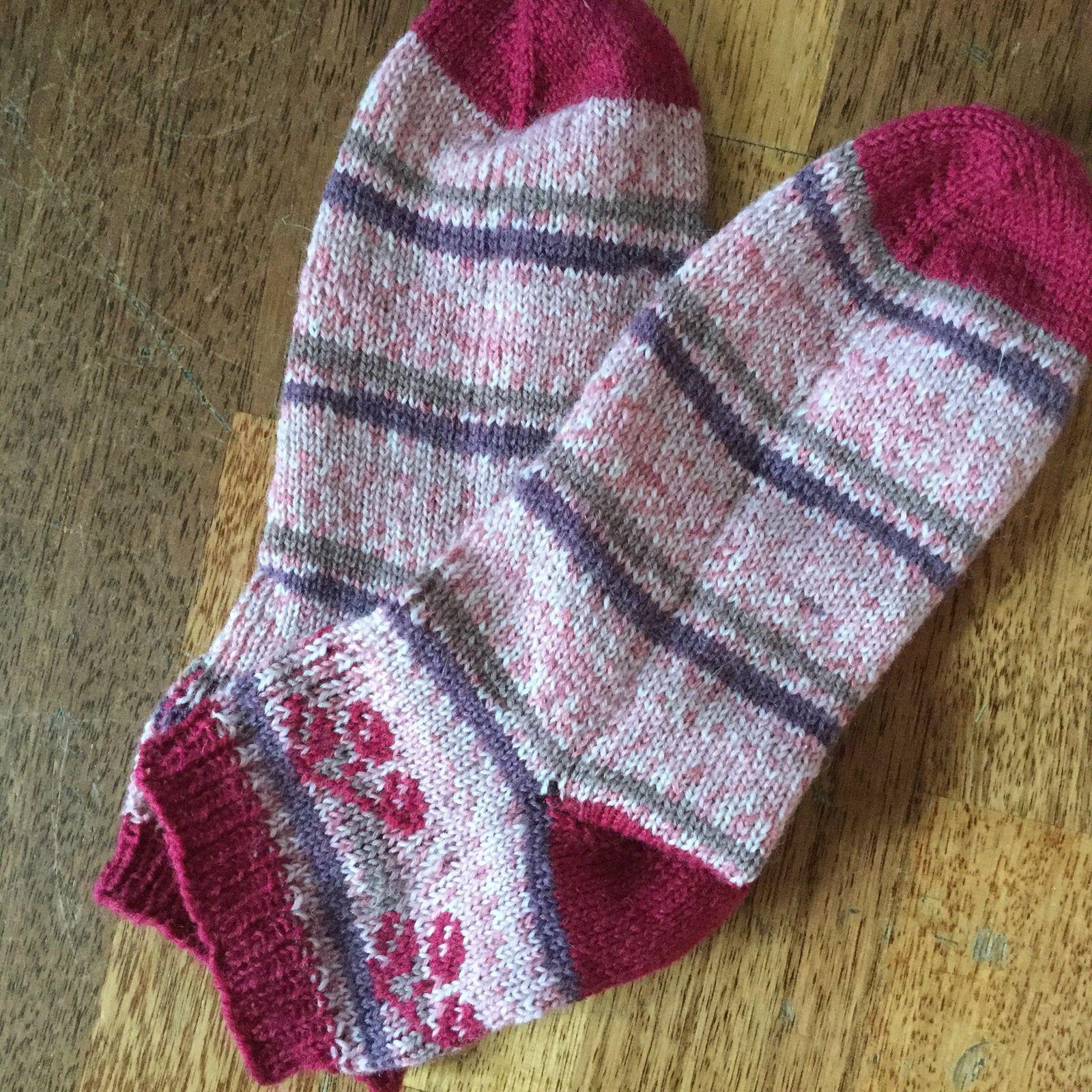 Les chaussettes Cerises