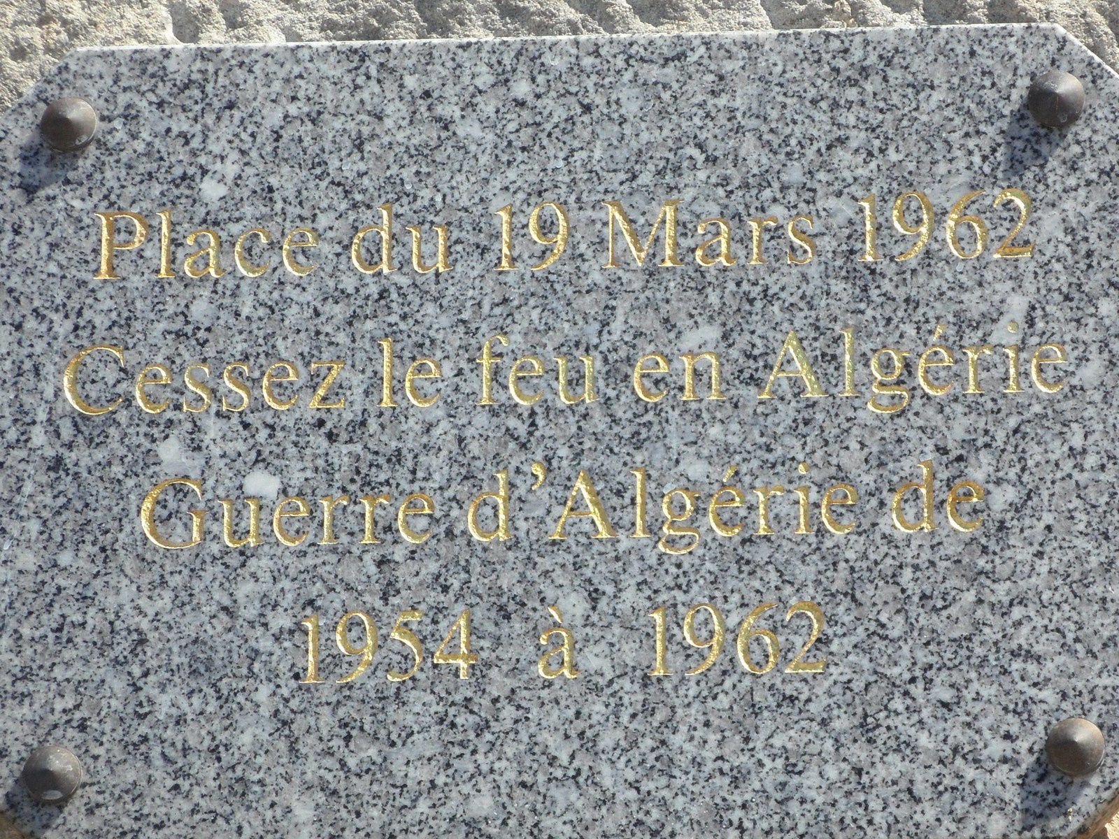 St Martin Lalande - Hommage aux absents