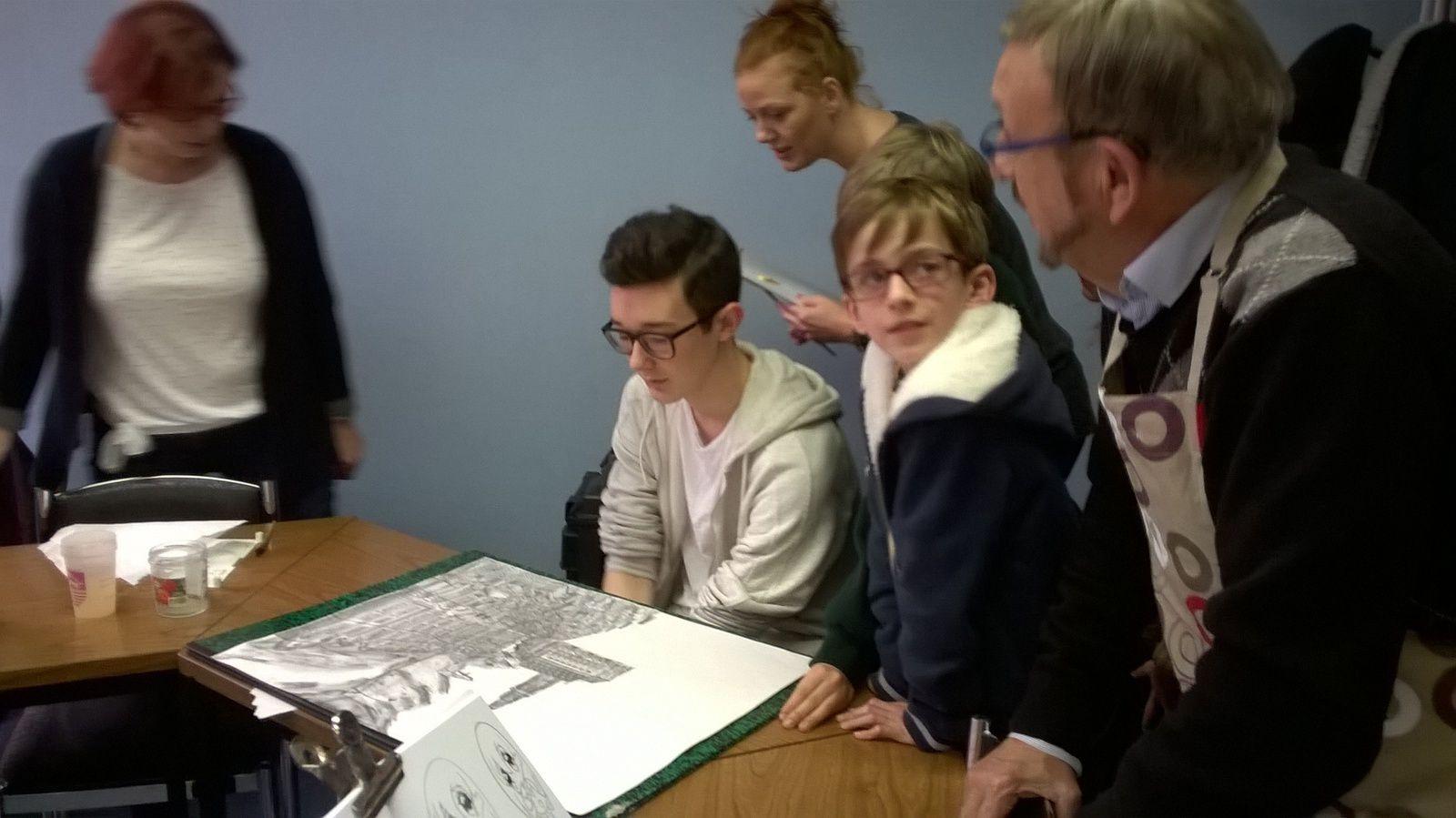 Plus que 2 mois avant l'expo des élèves au beffroi d'Arras !!
