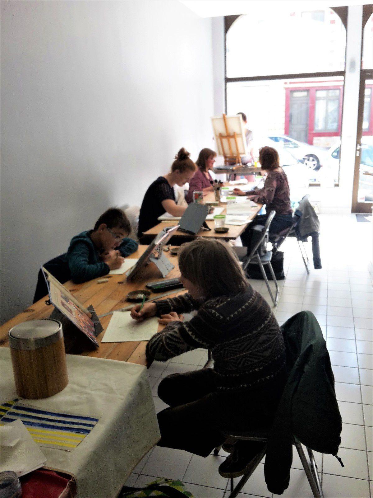Nouvelle adresse : Atelier Art Session au 56 rue d'Amiens à Arras !!