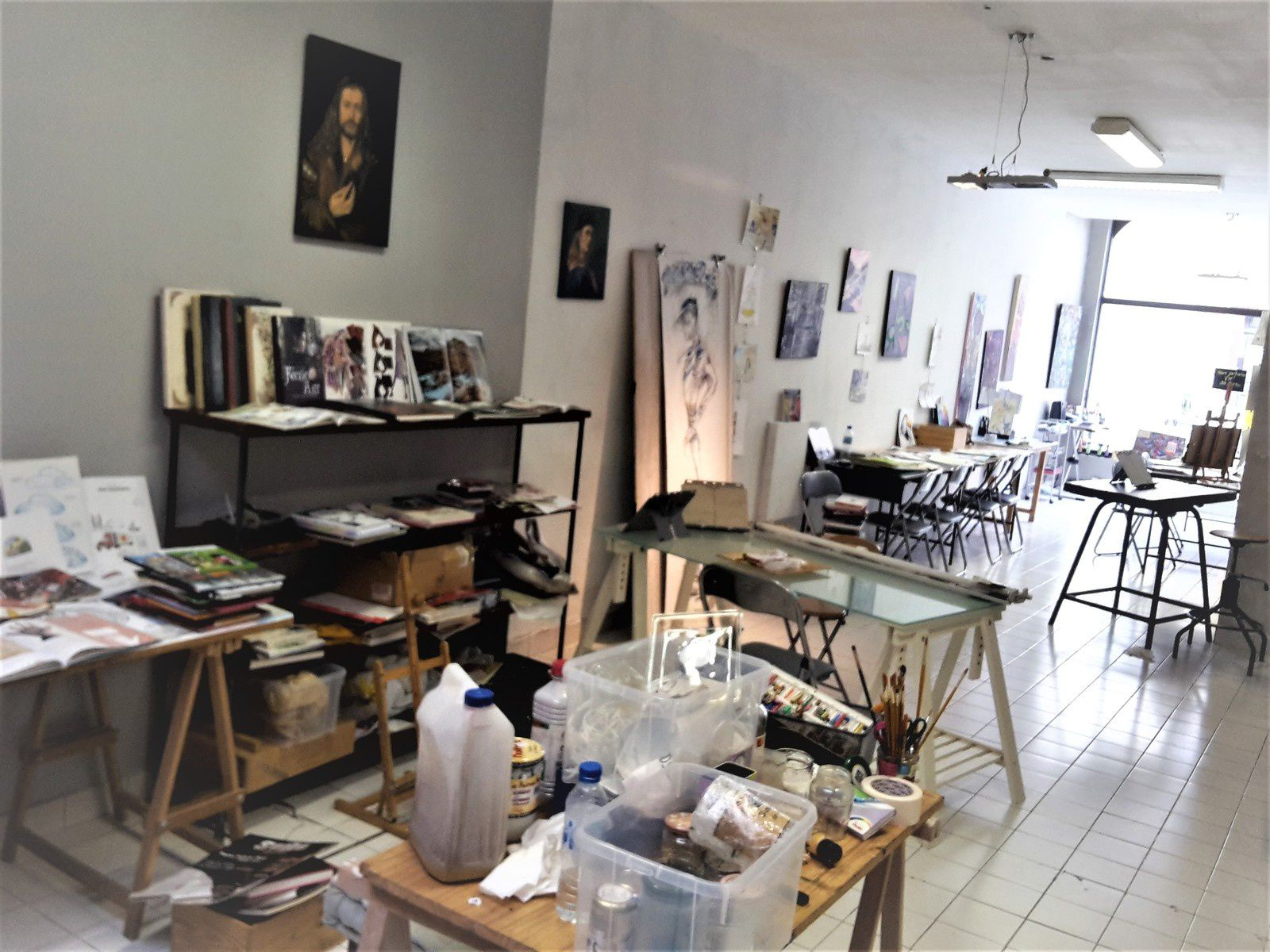 Reprise ces jours-ci des essais pour la 9ème rentrée de l'Atelier Art Session : dès le mardi 4 septembre !