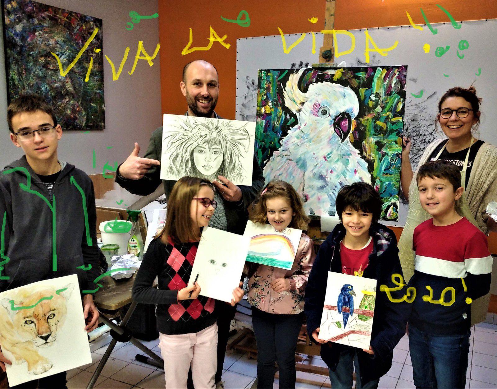 Bonne année : photos de classe des élèves !!!