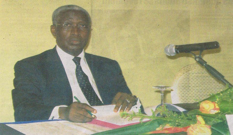 Le Premier Ministre Raymond Ndong Sima