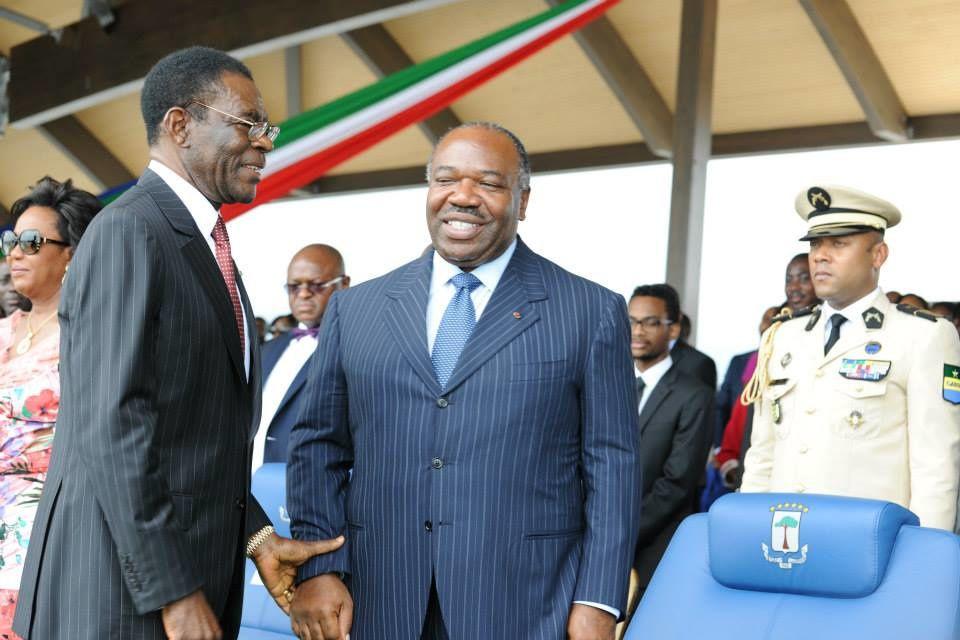 Le Président Ali Bongo Ondimba au 45ème anniversaire de la Guinée-équatoriale