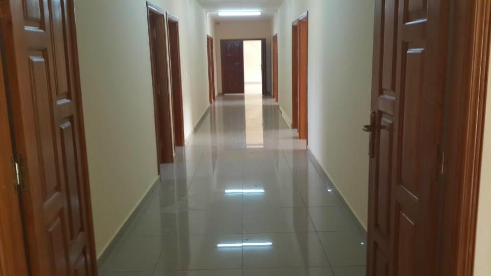 couloir maison des étudiants